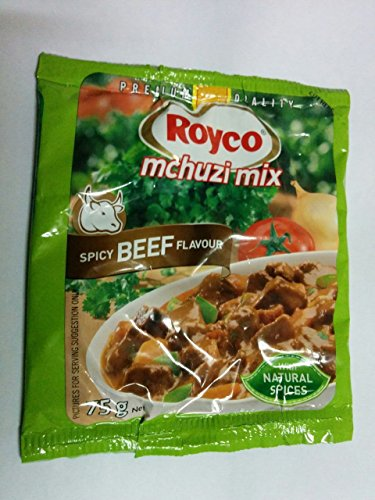 Kenyan Spices- Royco Mchuzi Mix Spicy Beef Flavor - 75g (Royco Mchuzi Mix compare prices)