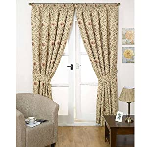 Tiffany Terracotta Curtains 90 X 90 Kitchen Home