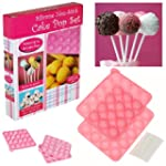 Silicone Non Stick Cake Pop Set Bakin...