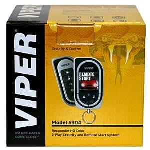 VIPER 5904 カーセキュリティー カラー液晶(並行輸入品)