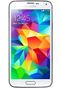 Samsung Galaxy S5 SM-G900H Factory Unlocked Cellphone, International Version, 16GB, White