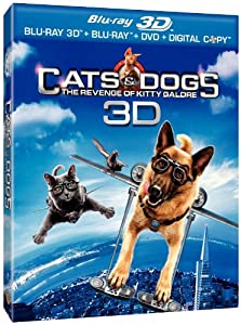 Cats & Dogs: The Revenge of Kitty Galore 3D Blu-ray