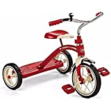 "Radio Flyer 34b / 34 Classic Red 10"" Tricycle Steel & Chrome Construction"