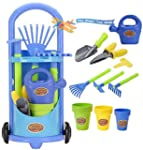 Kids Gardening Trolley Play Set Garde...