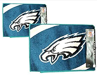 "NFL Licensed 2 Piece NFL Area Rug Set (20""x34"") (18"" x24"")"