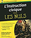 Image de L'Instruction civique Pour les nuls