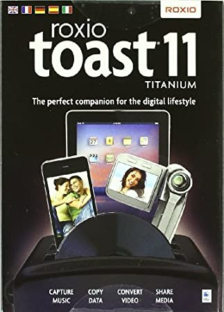 Roxio Toast 11 Titanium DDVD/EU para Mac