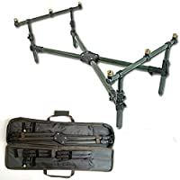 Ngt Deluxe Cross Rod Pod & Padded Carry Case from NGT