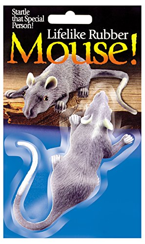 "Loftus International Halloween Decor: Lifelike 3 1/2"" Mouse - 1"