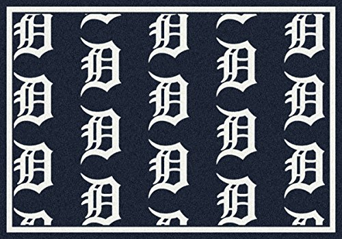Detroit Tigers Milliken MLB Team Repeat Area Rug (10'9