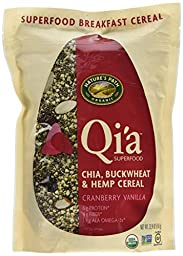 Nature\'s Path Organic Qi\'a Superfood, Net Weight 22.9 Oz (650g) - CRANBERRY VANILLA