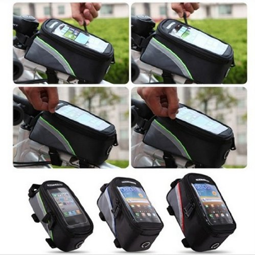 Buy Bargain Panlong Roswheel Cycling Bicycle Bike Front Tube Top Tube Cell Phone Bag Frame Bag Phone...