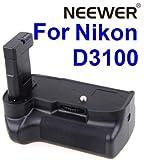 NEW Professional Vertical Battery Grip Holder for Nikon D3100 SLR Digital C ....