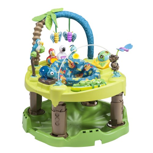 Review Evenflo Exersaucer Triple Fun Active Learning Center, Life in The Amazon