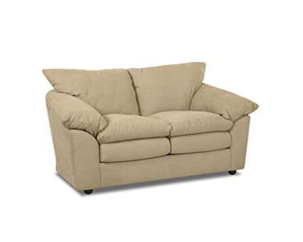 Klaussner HEIGHTS Loveseat, Taupe