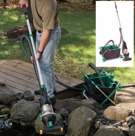 How to determine which pond vacuum is right for your pool for Koi pond vacuum