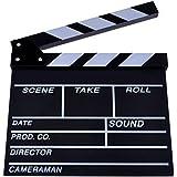 Neewer® 12''X11''/30cm X 27cm Wooden Director's Film Movie Slateboard Clapper Board