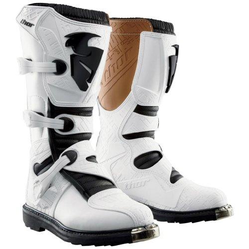 Thor Motocross Blitz MX Boots - White Size - 11