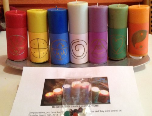 Magic Chakra Candles