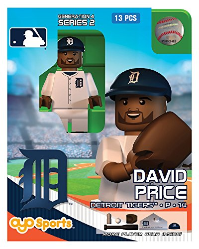 David Price MLB Detroit Tigers Oyo G4S2 Minifigure - 1
