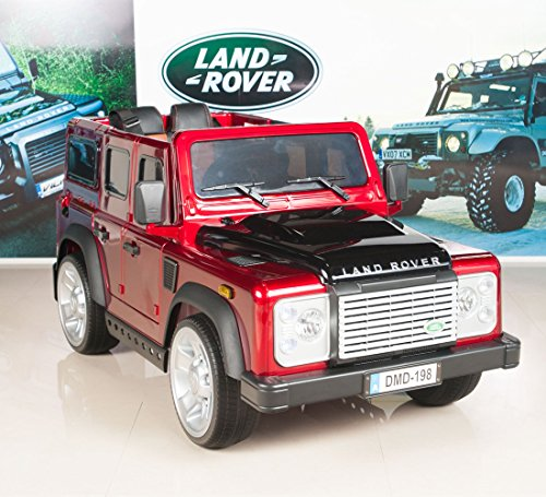 12v land rover defender kids electric ride on cartruck with mp3 and remote control red little kid cars