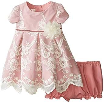 Amazon Laura Ashley London Baby Girls Pink Lace
