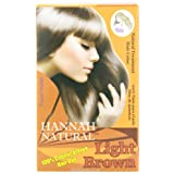 Hannah Natural 100% Chemical Free Hair Dye Light Brown 100 Gram