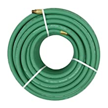 Hitachi 19407 100-Foot 3/8-Inch Heavy Duty Rubber Air Hose