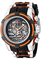 Invicta Men's 14193 Bolt Analog Display Swiss Quartz Black Watch