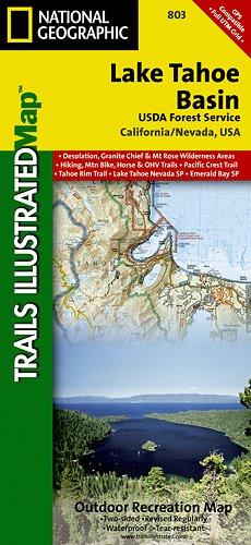 TI Map #803- Lake Tahoe Basin