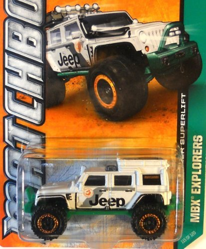 MATCHBOX 2013 - MBX EXPLORERS - Jeep Wrangler Superlift #115 OF 120 - 1
