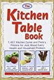 img - for The Kitchen Table Book: 1,427 Kitchen Cures and Pantry Potions for Just About Every Health and Household Problem book / textbook / text book