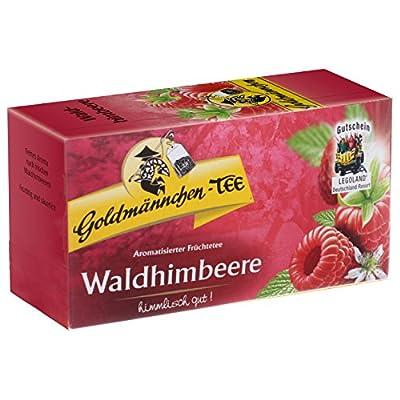 Goldmännchen Tee Waldhimbeere, 20 Teebeutel von H & S Tee-Gesellschaft mbH - Gewürze Shop