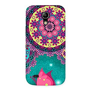 Special Vintage Round Pattern Multicolor Back Case Cover for Galaxy S4 Mini