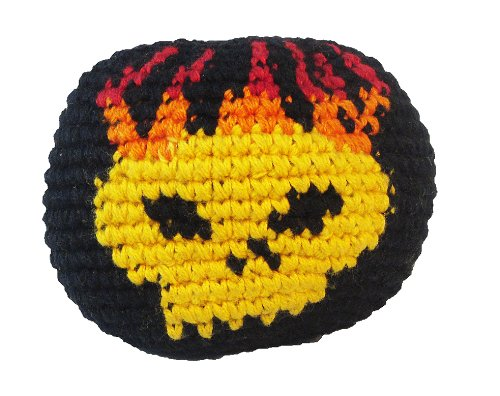 Hacky Sack - Flaming Skull
