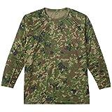 (ジェイジィエスディエフ)J.G.S.D.F クールナイス長袖Tシャツ【自衛隊衣料】 652401 520 新迷彩 M