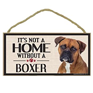 Imagine This Wood Sign for Boxer Dog Breeds
