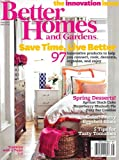 Magazine - Better Homes &amp; Gardens  (1-year auto-renewal)