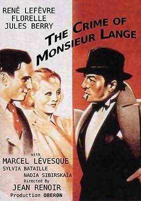The Crime of Monsieur Lange (Le Crime de Monsieur Lange) (1936)