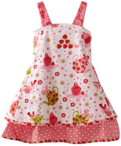 Jelly The Pug Girls 2-6X Cake Patty Dress