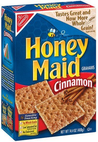 Buy Honey Maid Grahams, Cinnamon Crackers, 14.4-Ounce Boxes (Pack of ...