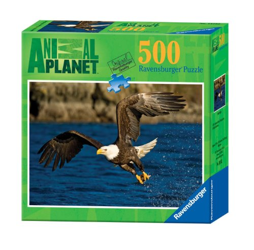 Ravensburger Animal Planet: Bald Eagle - 500 Pieces Puzzle - 1