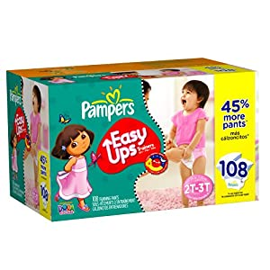 Pampers Easy Ups Training Pants for Girls