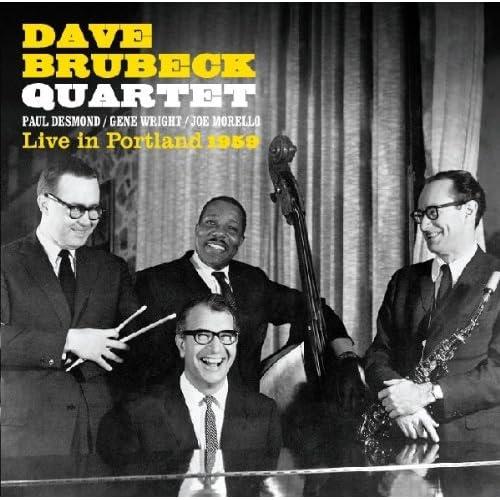 Amazon.com: DAVE QUARTET BRUBECK: Live in Portland 1959: Music