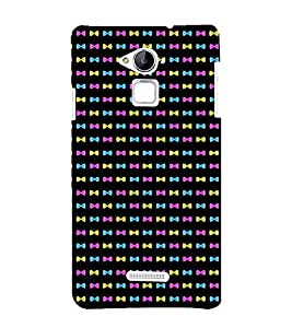 printtech Mini Bow Tie Pattern Back Case Cover for Coolpad Note 3 Lite