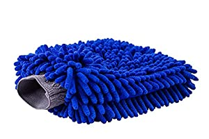 Ultimate Car Wash Mitt - Premium Chenille Microfiber Wash Mitt - Wash Glove - Lint Free - Scratch Free - Regular Size