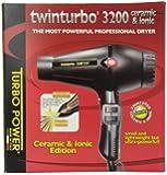 Twin Turbo 3200 Ceramic and Ionic Professional Hair Dryer, 1900 Watt