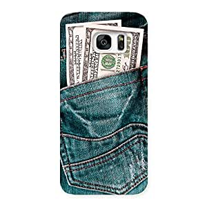 Special Pocket Full Jeans Multicolor Back Case Cover for Galaxy S7 Edge