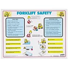 "Brady FLSP 18"" Height, 24"" Width, Forklift Safety Poster"