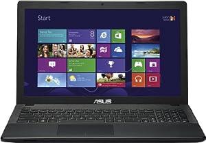 Asus F551MA-SX063H 39,6 cm (15,6 Zoll) Notebook (Intel Pentium N3520, 2,4GHz, 4GB RAM, 500GB HDD, Intel HD, DVD, Win 8) schwarz